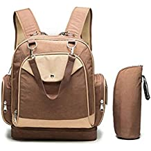 bolso skip hop - Marrón - Amazon.es