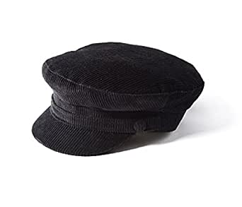 Failsworth Mariner Cord Cap Black Small
