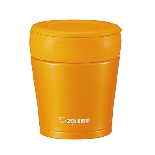Zojirushi Stainless Steel Food Jar 260 ml Paprika Orange (Separable Stopper) SW-GB26-DA by Zojirushi