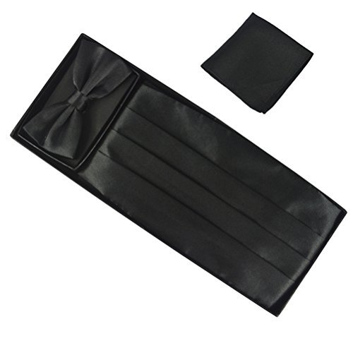 fan-tastik-mens-silk-grossgrain-bow-tie-and-cummerbund-set-with-a-pocket-square-black-