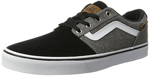 vans-chapman-stripe-mens-low-top-sneakers-multicolored-black-white-9-uk-43-eu