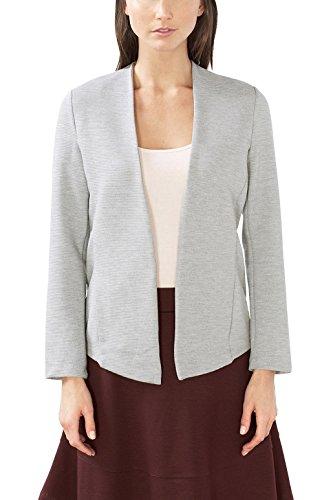 ESPRIT Damen 997EE1J800 Sweatshirt, Grau (Medium Grey 035), 36 (Herstellergröße: S)