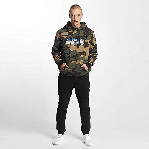 New Era Herren Oberteile / Hoody Woodland Seattle Seahawks Camouflage