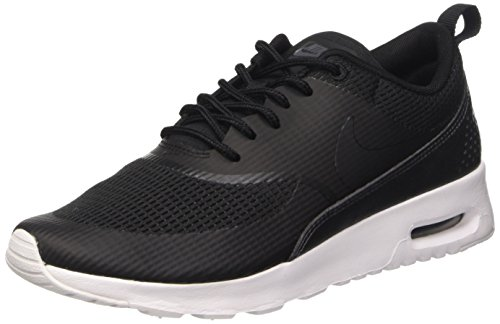 Nike Damen Air Max Thea Textile Women's Shoe Sneakers, Schwarz