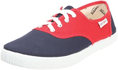 Victoria Inglesa Bicolor, Baskets mode mixte adulte - Rouge (Rojo Marino), 36 EU