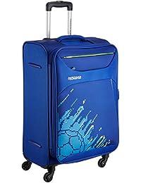 American Tourister Z-strike Polyester 79 cms Royal Blue Softsided Check-in Luggage (AMT Z-STRIKE SP79CM FTBL R.BLU)