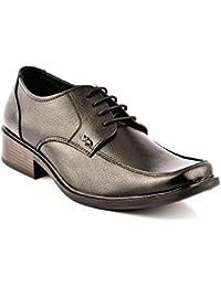 Lee Cooper Men's Black Leather Formal Shoes (LC9230_BLACKP1_43) - 9 UK