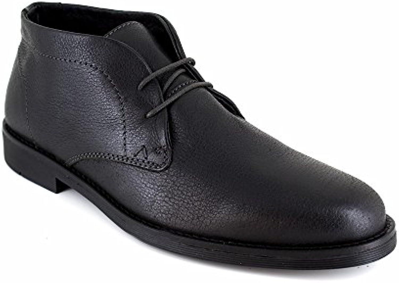 Derby J.Bradford Cuero Negro JB-VALT  Zapatos de moda en línea Obtenga el mejor descuento de venta caliente-Descuento más grande