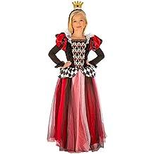 My Other Me Me-204111 Disfraz Reina de corazones para niña 7-9 años 5e4e9b2b923