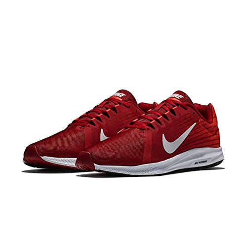 Nike Herren Downshifter 8 Laufschuhe, Rot (Gym Red/Vast Grey/Bright Crimson 601), 40.5 EU