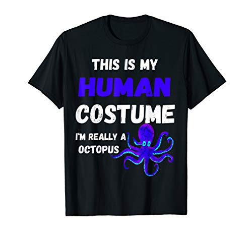 Oktopus Kraken Tentakel Fisch Menschliches Kostüm (Lustige Meeresbewohner Kostüm)