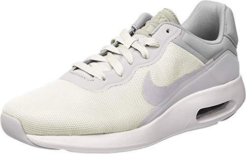Nike Herren AIR MAX MODERN Essential Sneakers, Weiß (100 White-COOL Grey-Pure Platinum), 44 EU