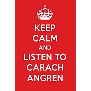 Keep Calm And Listen To Carach Angren: Carach Angren Designer Notebook