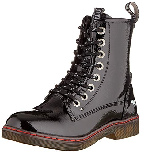 Mustang 1235-503-9, Rangers Boots Femme, Noir (Schwarz...