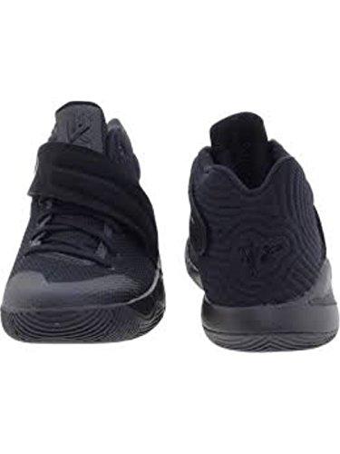 Nike Jungen Kyrie 2 (GS) Basketballschuhe, Black (Black (Schwarz/Reflektieren Silber-Volt)), 36.5 EU