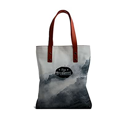 DailyObjects Blow The Speakers Tote Bag-Multicolour