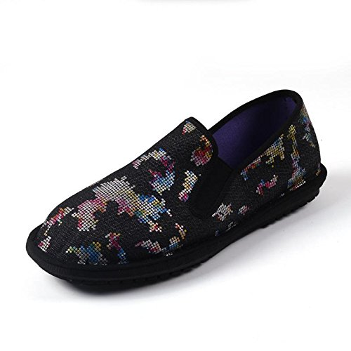LvYuan Unisex scarpe di stoffa cinese tradizionale / informale retrò Breathe pattini del ricamo / scarpe Kung Fu / Arti marziali / slip-on scarpe 12#