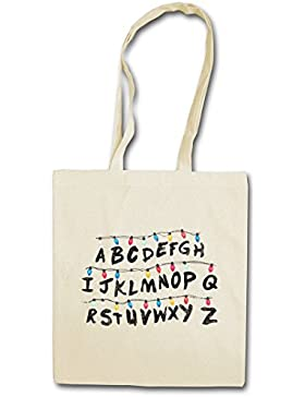ALPHABET HIPSTER BAG – Fiaccolata lettera carattere Lights Alfabeto Series Ghost World Hell Letters Monster
