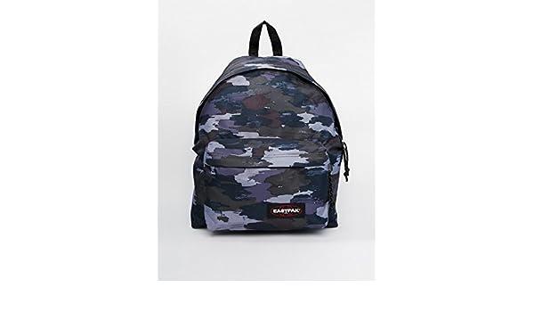 Bleu À Camouflage Bagages Eastpak Dos Sac waHWnzdIqq