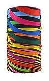 HeadLOOP Multifunktionstuch Bunte Streifen Loop Schlauchtuch Schal Halstuch Kopftuch Microfaser