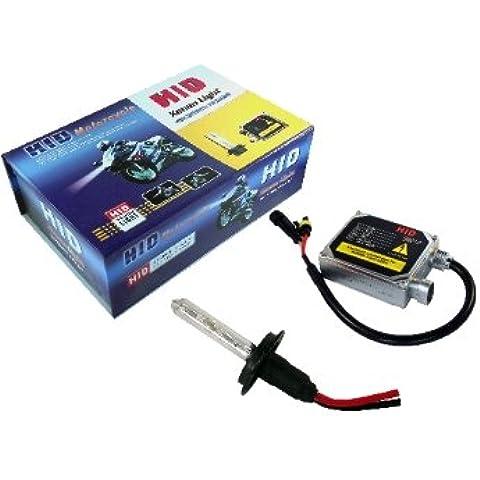motorcylcle H7HID Headlamp Kit di conversione 6000K modello avanzato