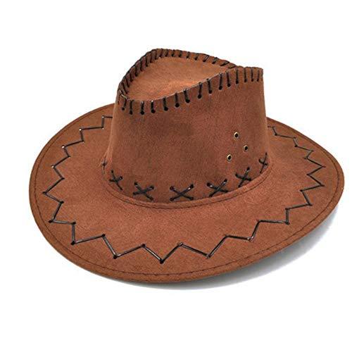 Vogue Fang Unisex Cowgirl Sombrero de Vaquero para niños Niños Niño