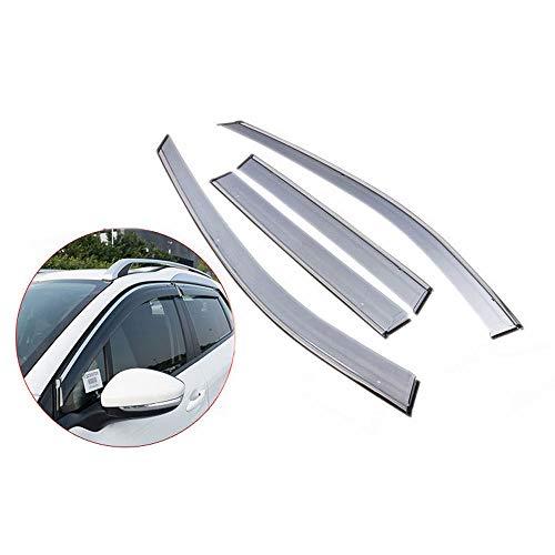 OTQEALY Kompatibel Mit/Ersatz Für Windabweiser Kit Für Audi q3/q5/Lq7/q2l/a3/a4l/a6l/a8, Auto Windabweiser, Seitenfenster Abweiser, Autofenster Windabweiser,A3hatchback[2010-2013]