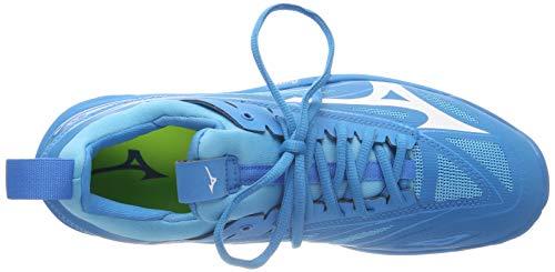 Mizuno Herren Shoe Waver Mirage Sneakers, Blau (Bjewel/Wht/Hocean 001), 46.5 EU - 7