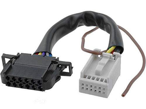 Cable Autoradio für CD Wechsler QUADLOCK 12Pin auf 12Pin Audi VW 0,15m–adnauto