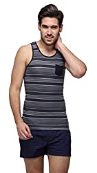 Hammock Mens Sleevless Printed Vest(H01T37J501OM)