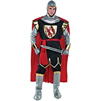 Deluxe King Arthur Costume Adult Mens Fancy Dress Medieval Lannister Knight Uniform Outfit