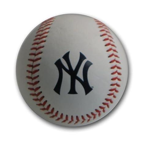 MLB New York Yankees Blank Leather Team Logo Baseballs