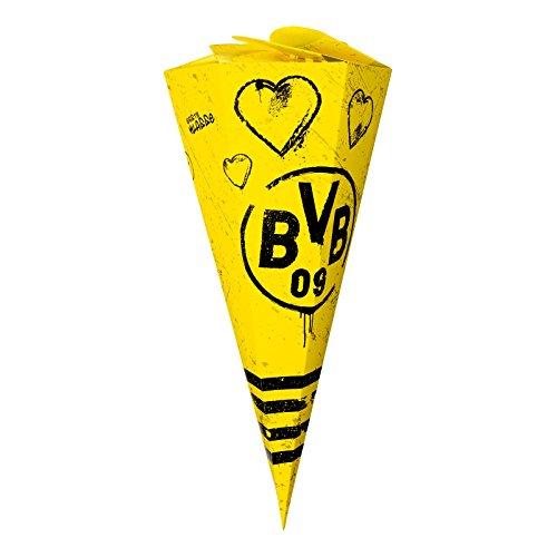 Borussia Dortmund BVB 09 Zuckertüte Schultüte (gelb/schwarz)