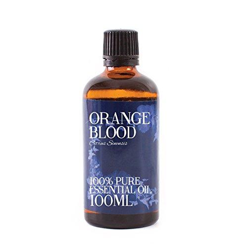 Mystic Moments Olio Essenziale Di Arancio Rosso - 100ml - 100% Puro