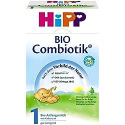 Hipp Bio Combiotik 1 Anfangsmilch - von Geburt an, 2er Pack (2 x 600g)