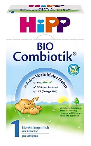 Preisvergleich Produktbild Hipp Bio Combiotik 1 Anfangsmilch - von Geburt an, 2er Pack (2 x 600g)