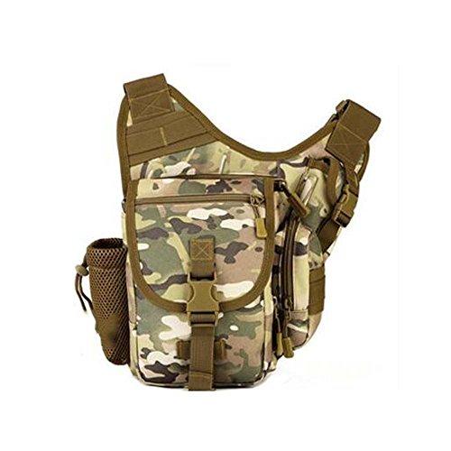 ZHANGRONG- Sacchetto di sella dell'esercito esterno Pacchetto trasversale obliquo Guidare una borsa Sacchetto di fotografia Borsa Sacchetto di camuffamento (Opzionale a colori) ( Colore : 1 ) 8