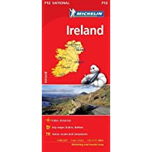 Ireland - Michelin National Map 712 (Michelin National Maps)