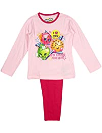 Girls Shopkins Kooky Best Friends Forever Cotton Pyjamas Pink 4-10Years