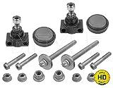 Reparatursatz,Trag-/Führungsgelenk HD QUALITY (Vorderachse, rechts, links) u.a. für Smart   Meyle (016 010 0019/HD)   Reparatursatz, Radaufhängung
