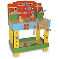 Toddlers Colourful Toy Workbench