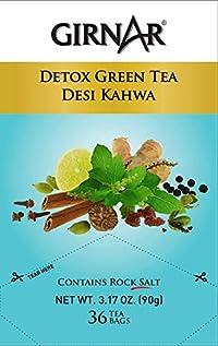 Girnar Green Tea, Desi Kahwa, 36 Tea Bags (36 Tea Bag (Pack of 6))