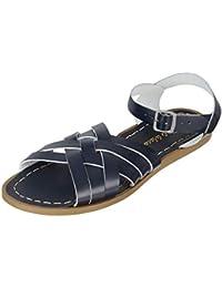 72d38dce0848 Salt Water Sandals - Retro - Navy - Waterproof Leather Sandals