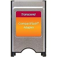 Transcend TS0MCF2PC PCMCIA ATA Adapter for CompactFlash Card - Silver/Black
