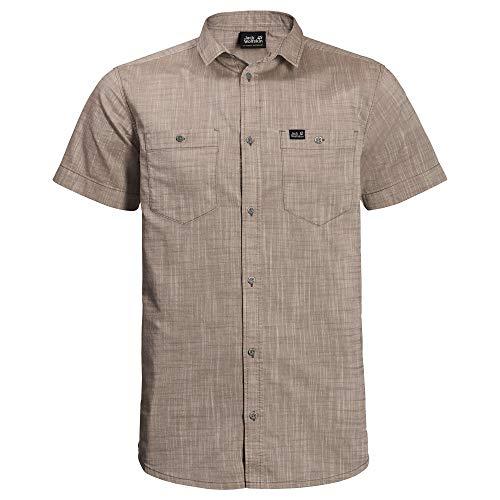 Jack Wolfskin Herren Emerald Lake Shirt Hemd, Sand Dune, L (Kostbare Sand Momente,)