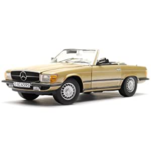 Sunstar - 4595 - Véhicule Miniature - Mercedes-Benz 350 Sl - Cabrio Ouvert - Echelle 1/18