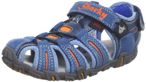 Capt'n Sharky 430525, Chaussures basses garçon Bleu (Navy 5)