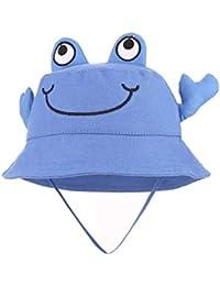 GEMVIE Bambino Unisex Visiera Cappello Pescatore Bimba Cappellino Forma di  Granchio Fumetto Berretto Bambina b147940681c3