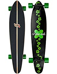 Jucker Hawaii Longboard–Motifs Différents: Kaimana, Skatesurfer, Kahuna, Donator, Makaha kaha
