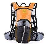 Docooler Cycling Bicycle Bike Sport Hiking Climbing Hydration Backpack Rucksack Water Pack Bag Orange